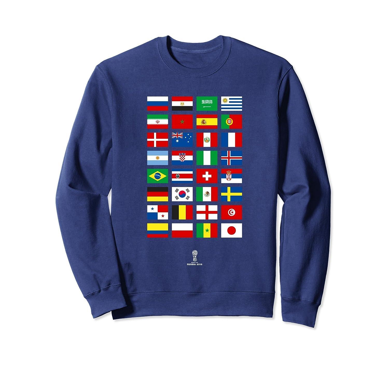 Russia World Football Cup 2018 Sweatshirt – All 32 Teams-Colonhue