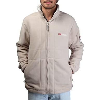 Sudadera Geographical Norway Korleon man desert off color beige - hombre - L: Amazon.es: Ropa y accesorios