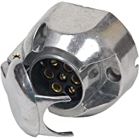 Unitec 01401 Toma de corriente de 7 pins, metal