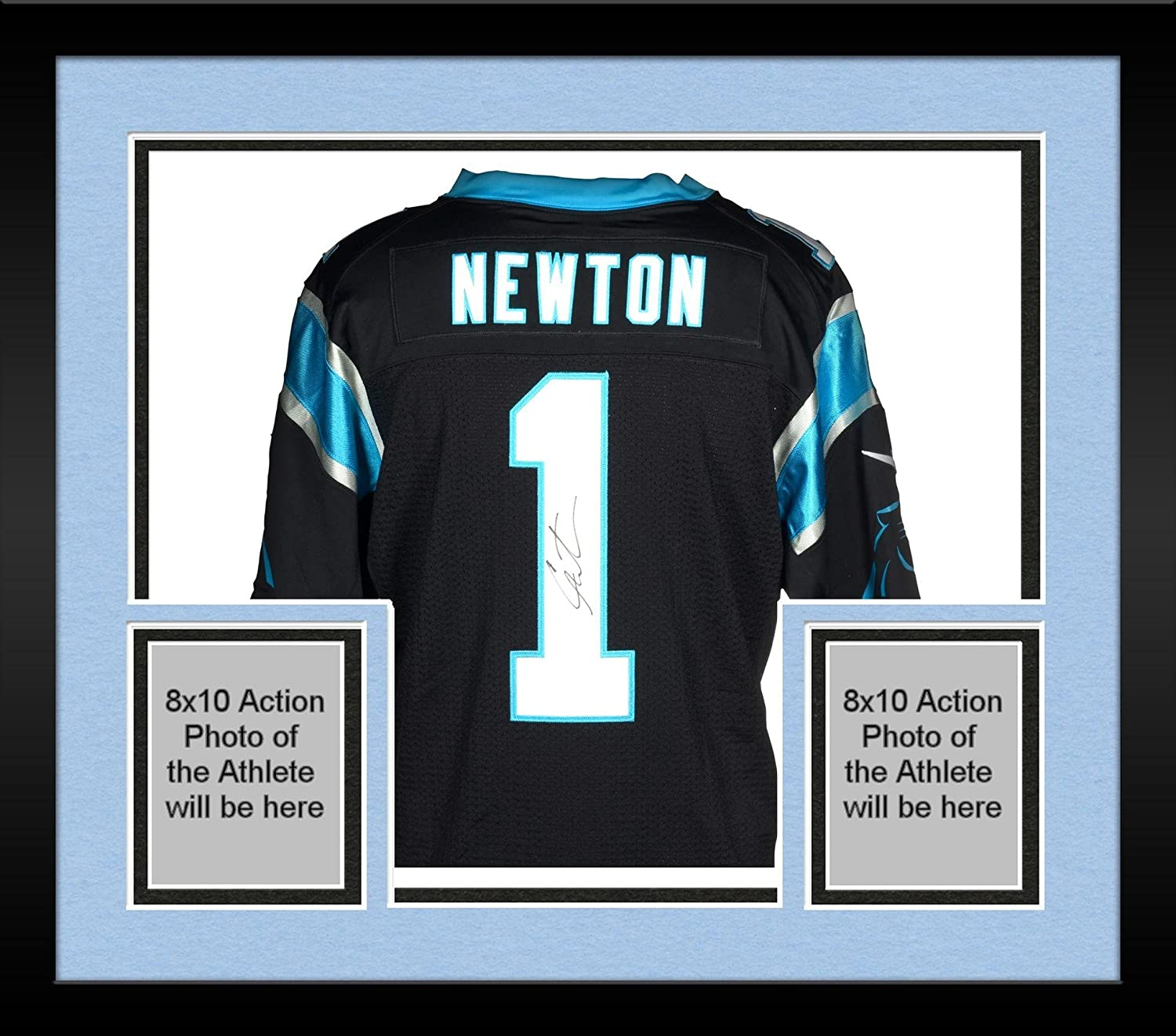 the best attitude 7f66c 6ab52 Framed Cam Newton Carolina Panthers Autographed Nike Limited ...