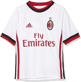 Adidas 2017-2018 AC Milan Away Football Soccer T-Shirt Maglia (Kids)