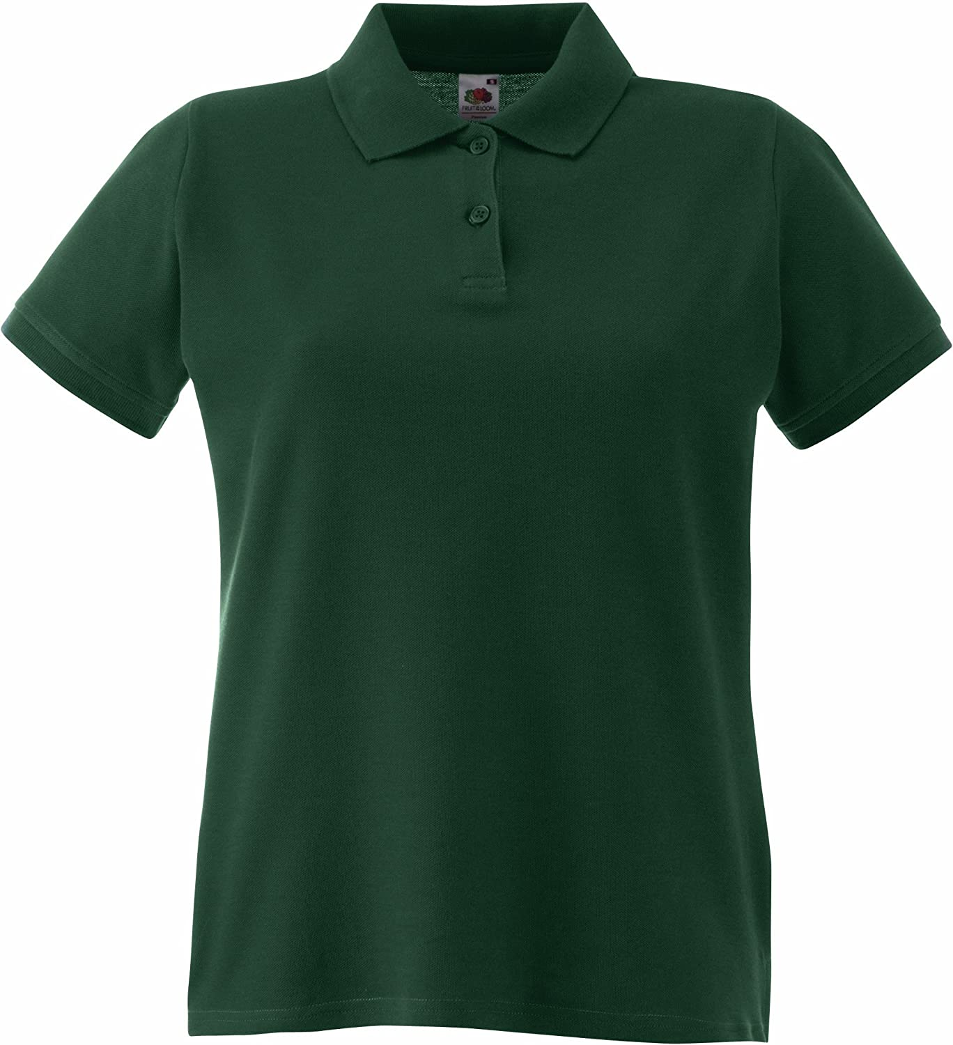 Lady-Fit Premium Poloshirt L / 14, Forest Green