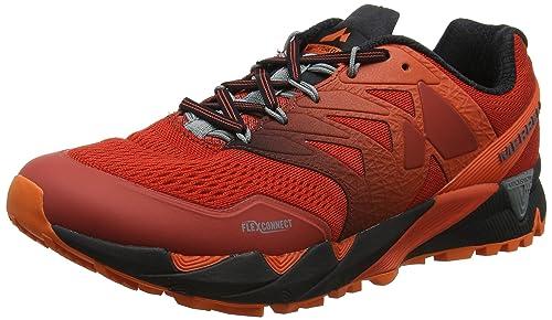 Agility Peak, Zapatillas de Running para Asfalto para Hombre, Azul (Directoire Blue Directoire Blue), 43.5 EU Merrell