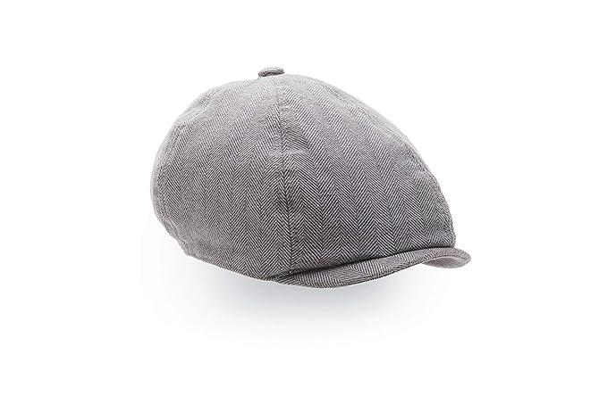 Amazon.com  Hope   Henry Boys Herringbone Newsboy Cap  Clothing b564182f4a1