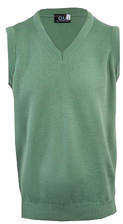 574bd22f8 Clothing Unit Mens Plain Sleeveless Sweater  Amazon.co.uk  Clothing