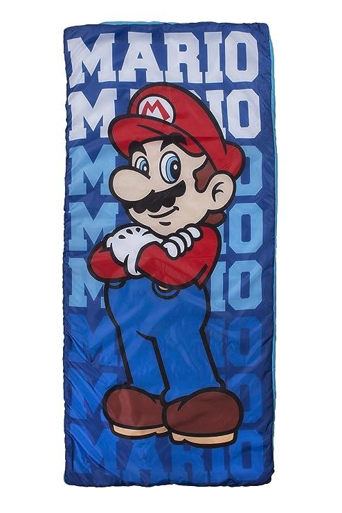 Nintendo - Saco de dormir, diseño de Mario Bros