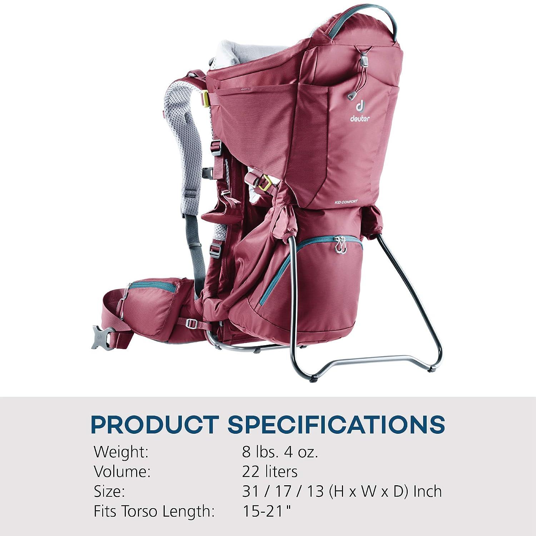3a044ac541c Amazon.com  Deuter Kid Comfort - Child Carrier Backpack