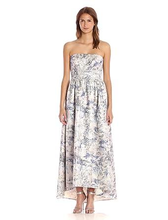 Vera Wang Strapless Dress