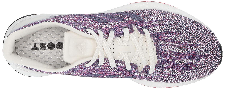 adidas adidas Women's Pureboost DPR Running Shoes, WhiteWhiteChalk Coral, 10 M US from Amazon   myweddingShop