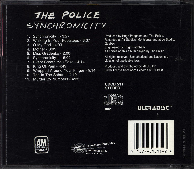 police synchronicity amazon com music