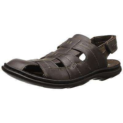 Clarks Men's Brigham Cove Fisherman Sandal   Sandals