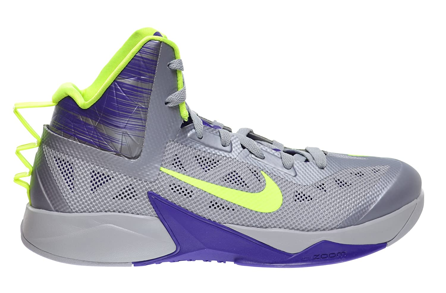 ... amazon nike zoom hyperfuse 2013 mens basketball shoes wolf grey volt  court purple 615896 005 10