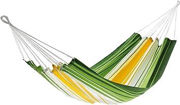 jobek 25612 hammock without spreader bar antigua 100  jobekcord green yellow white jobek 25612 hammock without spreader bar antigua 100  jobekcord      rh   amazon co uk