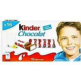 Kinder Bâtonnets de Chocolat fourrés au lait 200 g - Lot de 4
