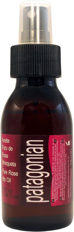 Aceite de Rosa Mosqueta Puro Chileno Patagonian Con doble sistema de aplicadores. Botella extra grande de 100ml. Alto contenido de vitaminas A y E y Omega 3 ...