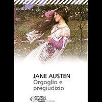 Orgoglio e pregiudizio (Italian Edition) book cover