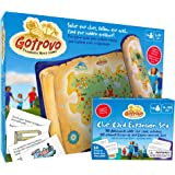 GoTrovo BUMPER EDITION Scavenger Hunt For Kids Of All Ages – This Fun Treasure Hunt Game Is Perfect Birthday Party, Play Date and Sibling Entertainment. Use Indoor, Outdoor, Camping, At Home, In The Garden Or Anywhere – Bonus Ideas eBook
