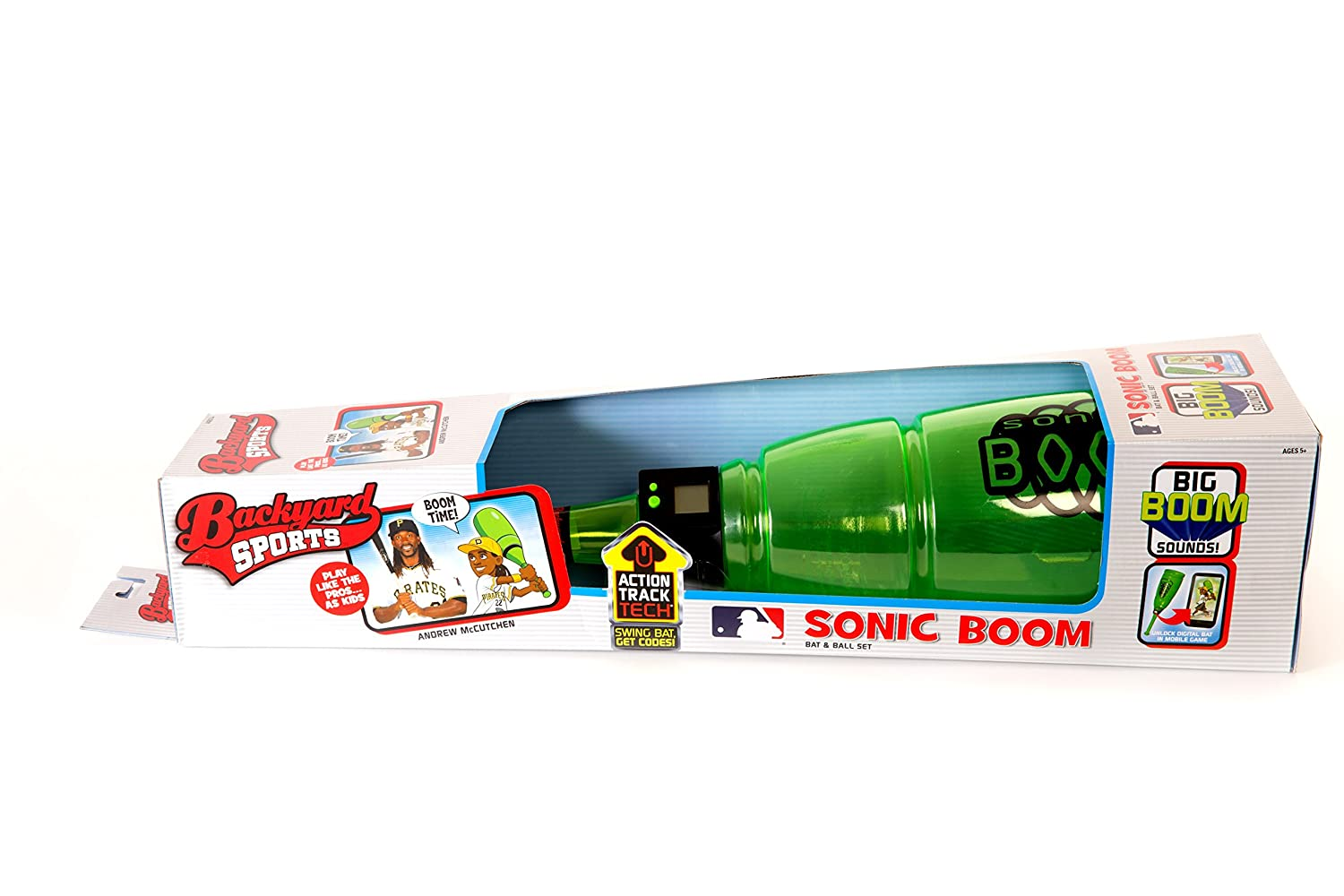 amazon com backyard sports sonic boom bat and baseball game