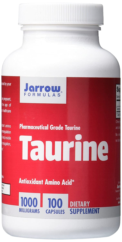 Jarrow Formulas Taurine 1,000mg Capsules, 200-Count