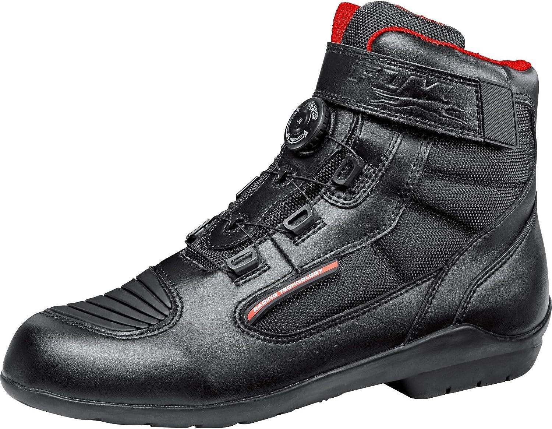 Sportler Leder//Textil FLM Motorradschuhe Herren /& Damen Motorradstiefel kurz Sports Schuh wasserdicht 1.1 Ganzj/ährig Unisex