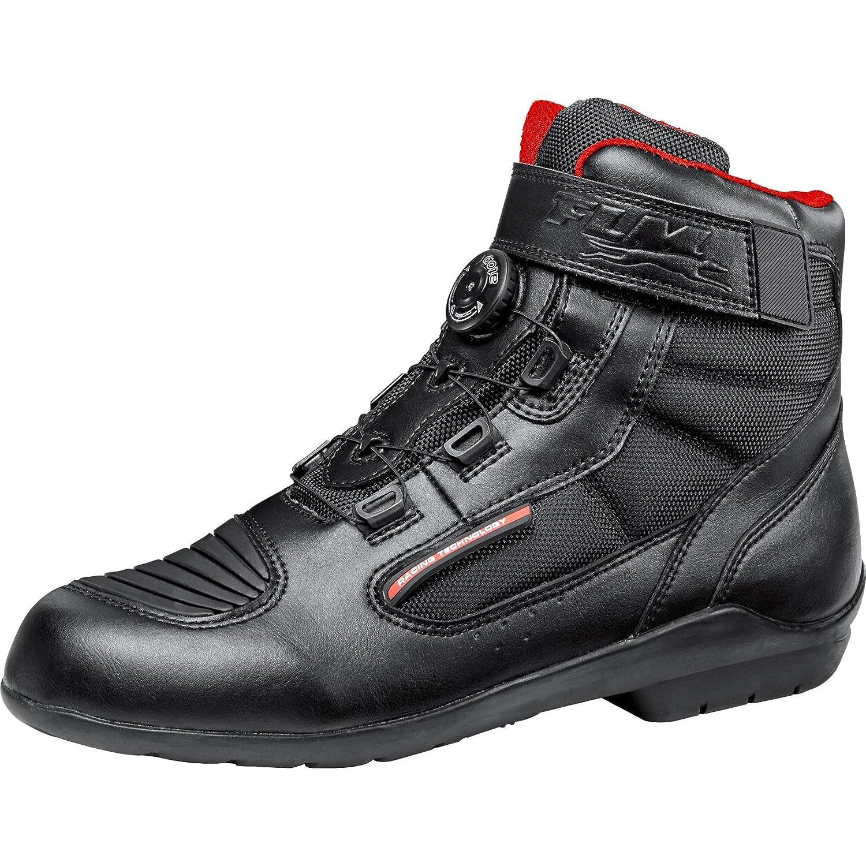 Unisex Ganzj/ährig Leder//Textil FLM Motorradschuhe Sportler Motorradstiefel kurz Sports Schuh wasserdicht 1.1
