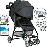 ZOE Umbrella XL1 Single Stroller, DELUXE - Black