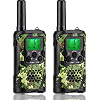 NAVYION Kids Walkie Talkies 22 Channels with Vox-Hands Free, Long Range Up to 6 km with Crystal Sound, Kids Walkie…