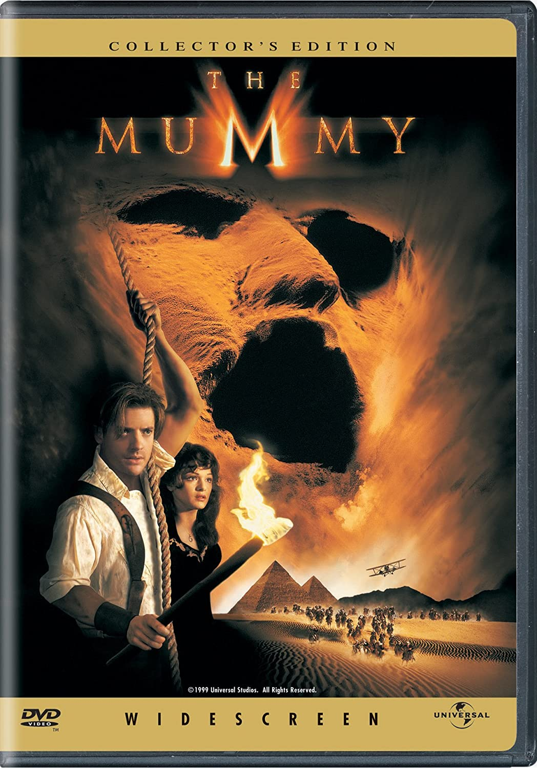 Amazon Com The Mummy Widescreen Collector S Edition Brendan Fraser Rachel Weisz Arnold Vosloo John Hannah Kevin J O Connor Jonathan Hyde Oded Fehr Erick Avari Patricia Velasquez Stephen Sommers James Jacks Sean Daniel Stephen