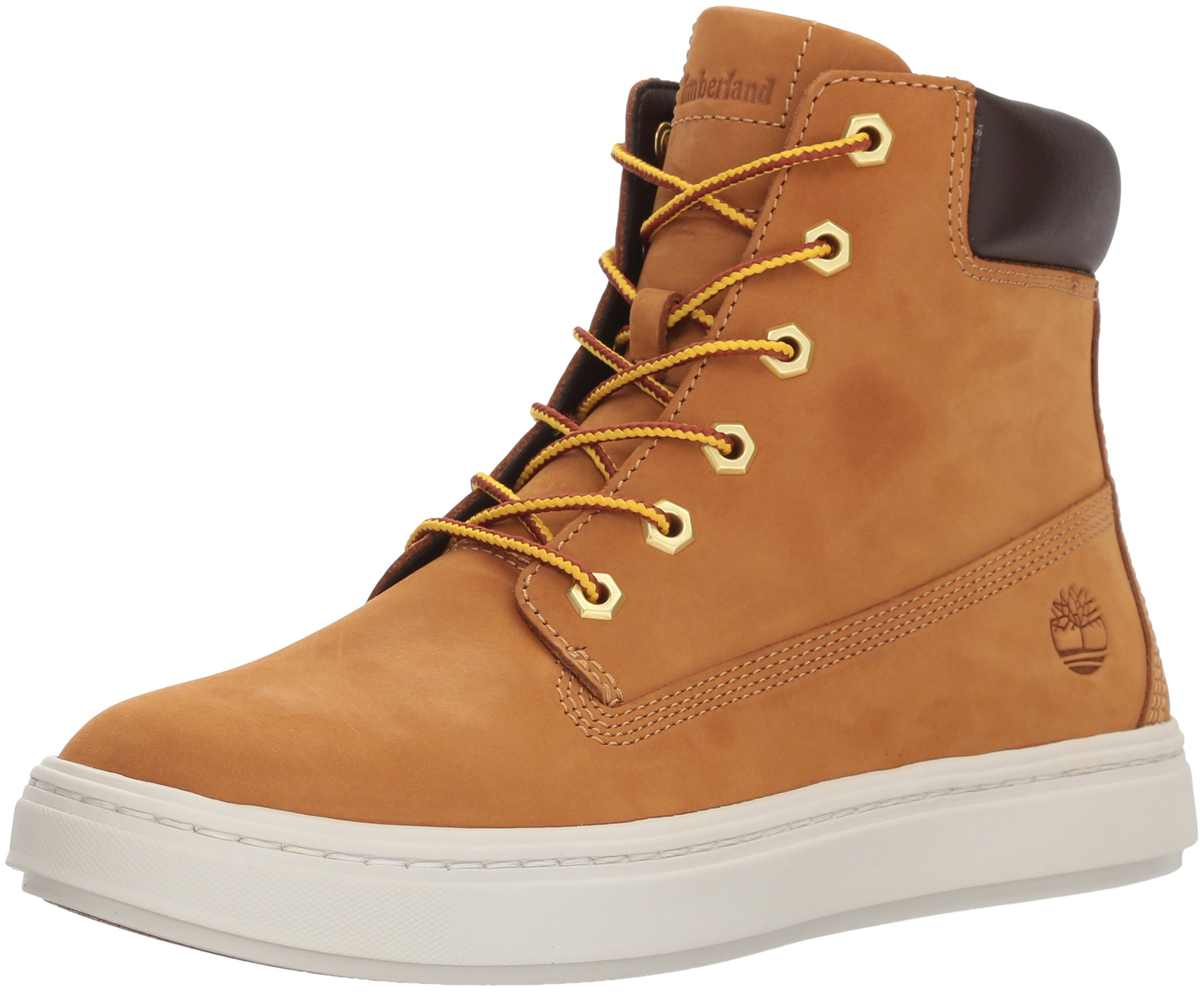 Timberland Women's Londyn 6'' Boot Chukka, Wheat Nubuck, 8 M US