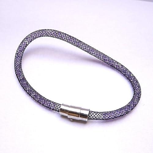 Bracelet Stardust perles en cristal de Swarovski, bracelet tube ...