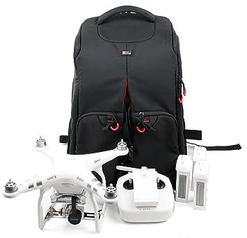Mochila protectora para drones DURAGADGET, para DJI Quadcopter Phantom 4 Pro Obsidian, 4,