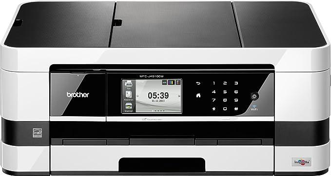 Brother MFCJ-4510DW All-in-One - Aparato multifunción (copiadora, escáner, Impresora, fax, WLAN, USB 2.0), Color Negro y Gris (Importado): Amazon.es: Informática