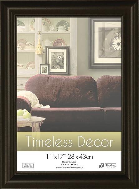 Timeless Frames 11x17 Inch Boca Picture Frame Black Amazon Co Uk Kitchen Home