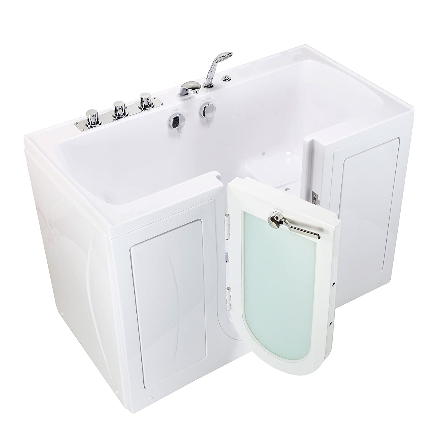 Walk In Tub With Heated Seat. Ella O2SA3260AH R Tub4Two Acrylic Air Massage Heated Seat Walk in Tub with  Right Outward Swing Door Thermostatic Faucet 2 Dual Drain 32 x 60 42