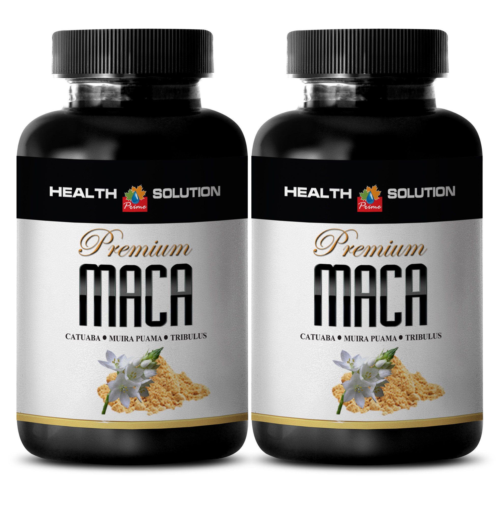 increase female libido - MACA PLUS 1300MG - maca extract capsules - 2 Bottles (120 Tablets)