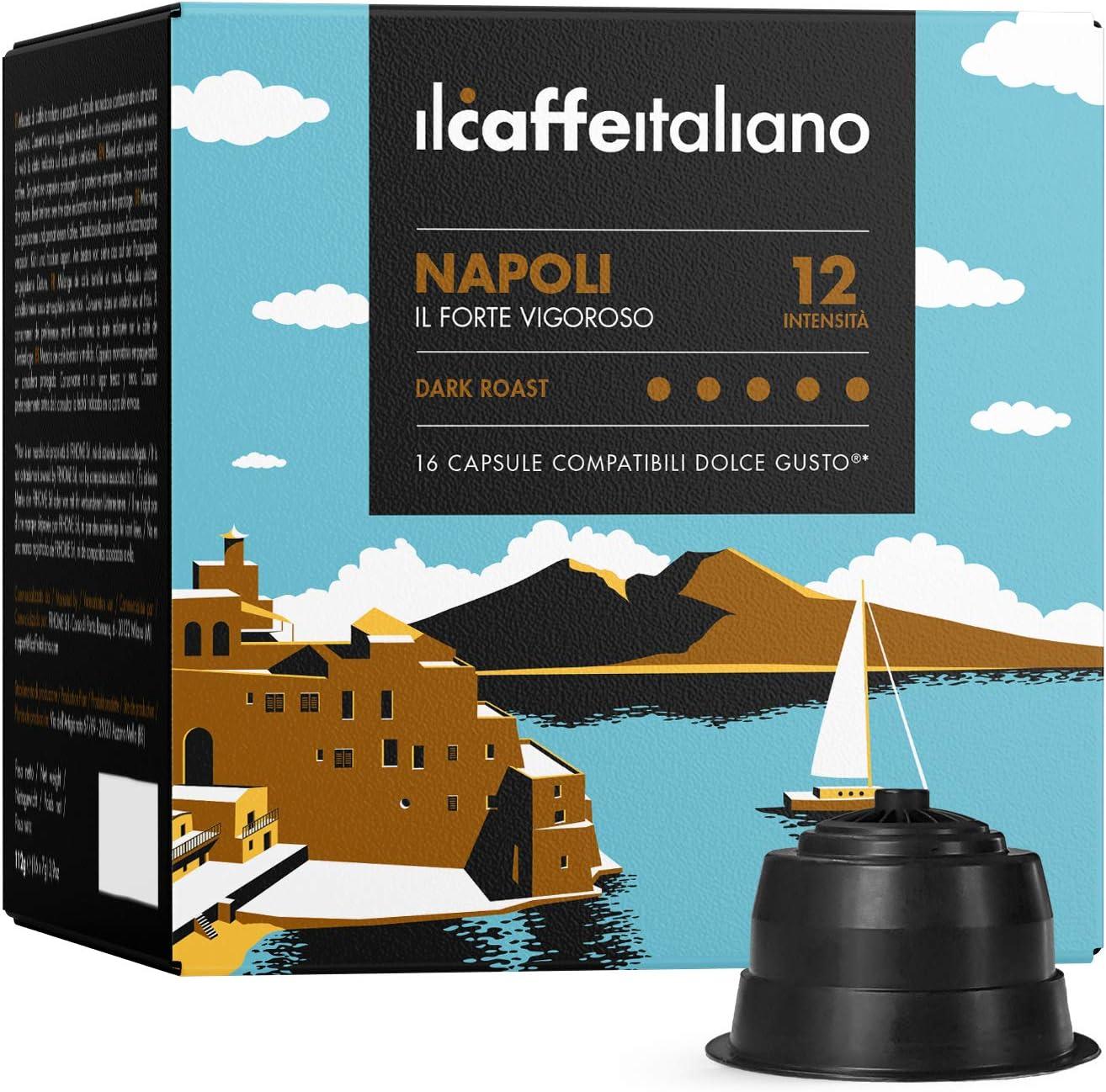 Nescafé Dolce Gusto 96 cápsulas - Kit café italiano
