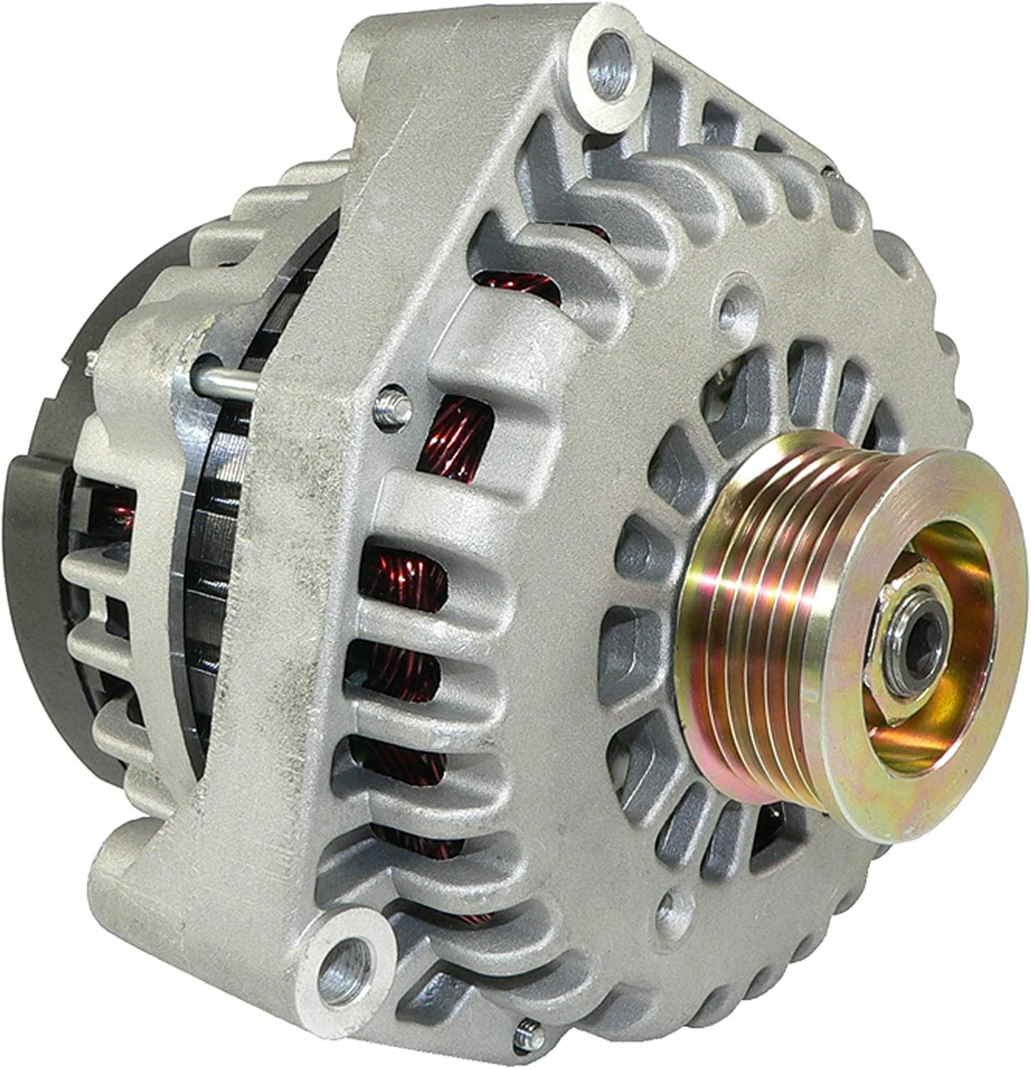 DB Electrical ADR0217 New Alternator 4.3L 4.3 4.8L 4.8 5.3L 5.3 6.0L 6.0 1500 2500 Silverado Sierra Pickup 99 00 01 02 1999 2000 2001 2002 112853 321-1749 321-1803 321-1813 321-1816 321-2123 10464405