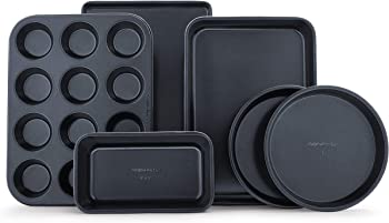 6-Piece Calphalon Simply Nonstick Bakeware Set