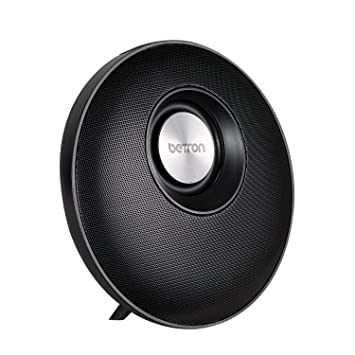 e0ffbe99a9c5a4 Betron E50 Wireless Bluetooth Speaker with Improved Passive Sub - Black
