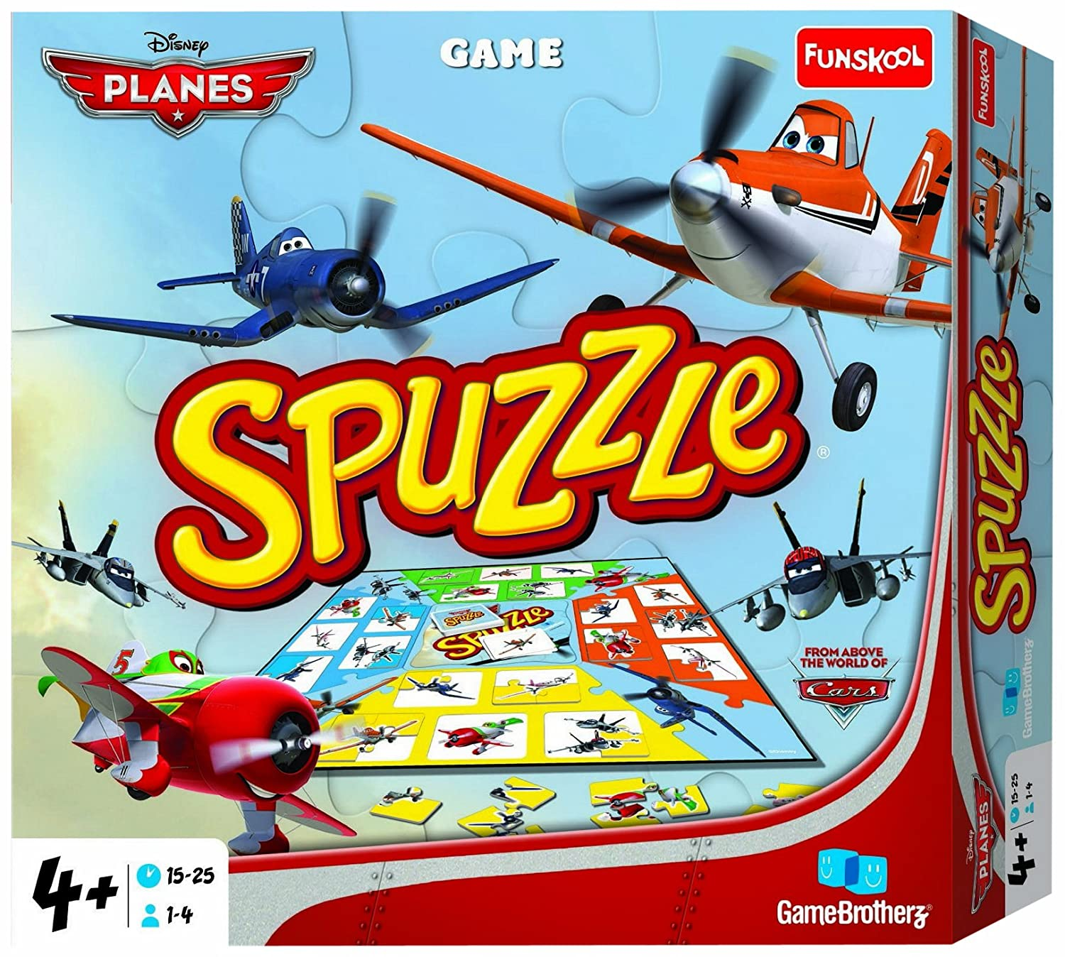 Funskool Games Funskool Disney Planes Spuzzle Multi Color
