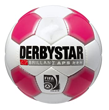 Derbystar Fußball Brillant APS - Balón de fútbol, Color Blanco ...