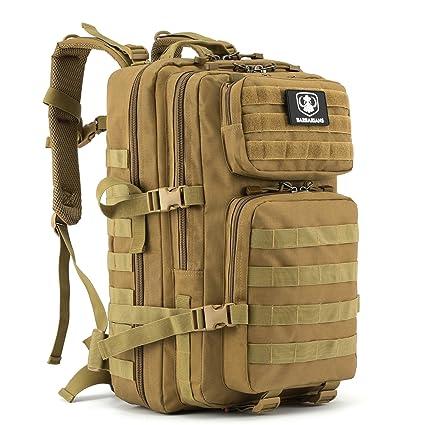 35L mochila, bolsa de Barbarians Molle táctica militar BGE Assault – Mochila para Outdoor Senderismo