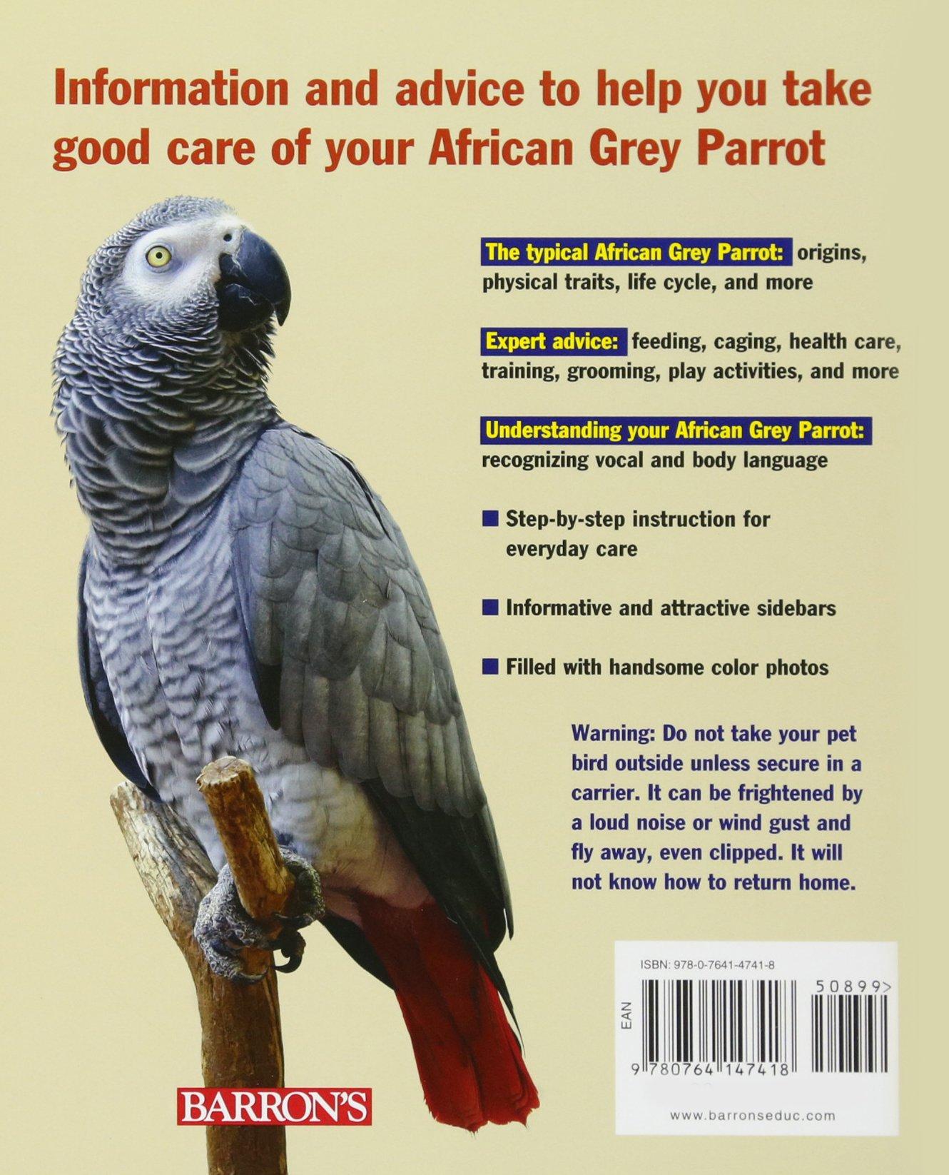 African Grey Parrots (Complete Pet Owner's Manual): Margaret