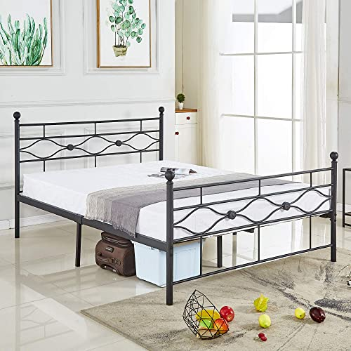 Tribecca Homes Metro Shop Leann Graceful Scroll Bronze Iron Queen-Sized Bed