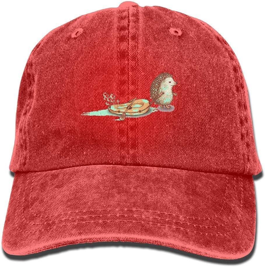 fboylovefor Mens GirlS Cricket Cap,Inflatable Boat Jean Hat For Men Women Unisex