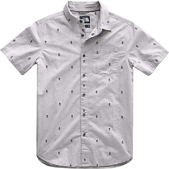 The North Face S/S Baytrail - Camiseta Jacquard de Manga Corta ...
