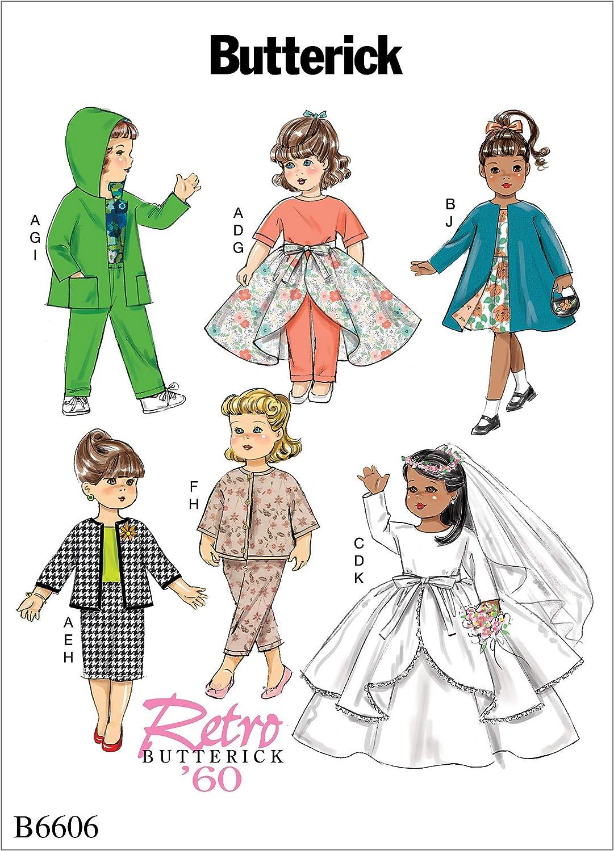 Butterick Patterns Retro Fashion 18