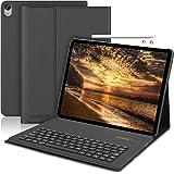 SENGBIRCH iPad pro 12.9 2018 キーボードケース オートスリープ機能付き ペンシル充電対応 三つスタンド角度調整可能 PUレザー 分離式キーボード Bluetooth接続 iPad pro 12.9 インチ 第3世代 カバケース (iPad pro 12.9 2018 ブラック)