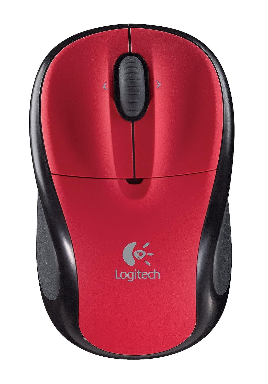 Amazon.com: Logitech V220 Cordless Optical Mouse for Notebooks (Scarlet  Red): Electronics