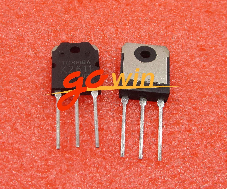 10PCS 2SK2611 K2611 Transistors TOSHIBA TO-3P